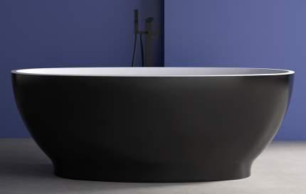 Ванна ABBER AB9207B отдельностоящая 165х80 см
