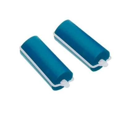 Набор бигуди резиновых Dewal Beauty диаметр 16 мм, длина 70 мм (10 штук) синие