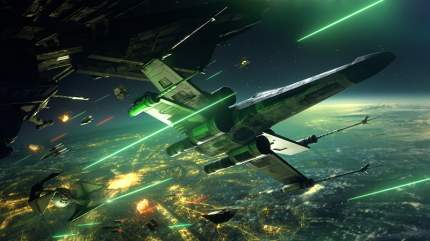 Игра Star Wars: Squadrons (поддержка PS VR) для PlayStation 4 (нет пленки на коробке)