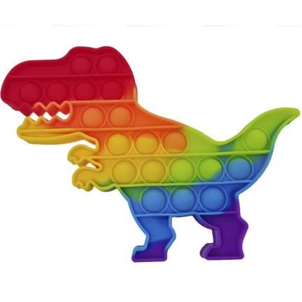 Игрушка-антистресс Pop it Поп ит Вечная пупырка, Динозавр