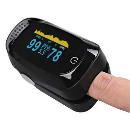 Пульсоксиметр оксиметр цифровой на палец Fingertip C101A2