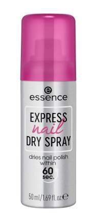 Спрей экспресс-сушка лака essence, express nail dry spray, 50 мл