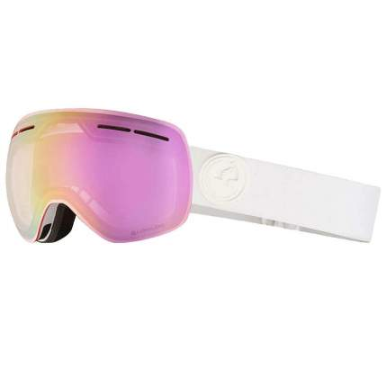 МАСКА DRAGON X1S 2020 White/LL Pink Ion ONE SIZE