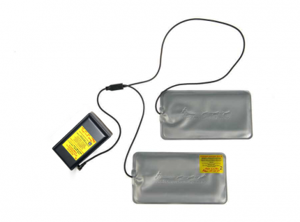 Греющий комплект RedLaika для любой одежды ГК2 c аккумулятором 2600 mAh
