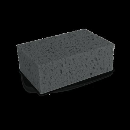 Пористая губка для мойки WASCHSCHWAMM, серая 200х130х70мм