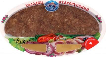 Холодец Холодушка Старорусский мясной с горчицей и хреном