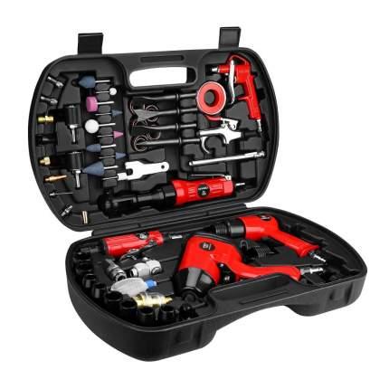 Набор пневмоинструмента и аксессуаров DEKO DKPT61 Premium 61 предмет