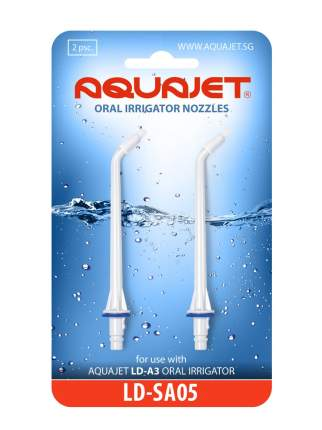 Насадки AquaJet LD-SA05 для LD-A3 ортодонтические, 2 шт