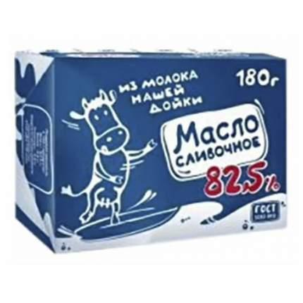Масло Нашей дойки сливочное 82,5% 180 г