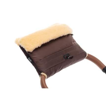 Муфта меховая для коляски Nuovita Alaska Pesco Cioccolata/Шоколад
