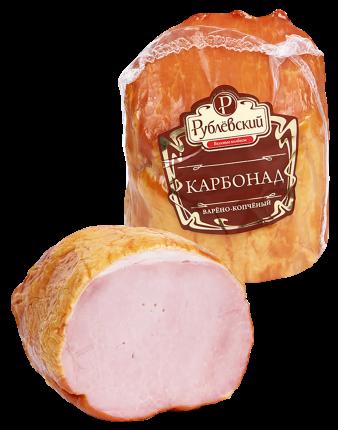 Карбонад Рублевские колбасы из свинины варено-копченый 300 г
