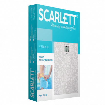 Напольные весы Scarlett SC-BS33E043