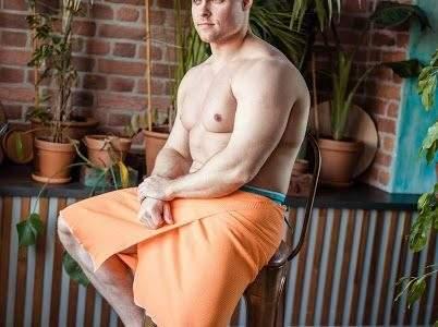 Килт для сауны Май Спа 100/002 оранжевый