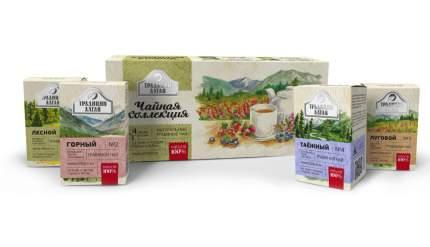 """Подарочный набор травяных чаёв """"Чайная коллекция"""""""
