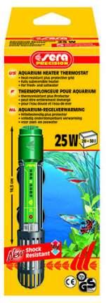 Обогреватель погружной для аквариума Sera Precision, кварцевое стекло, 25 Вт