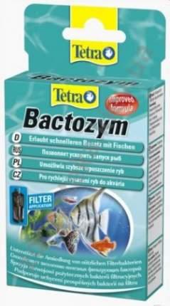 Кондиционер с культурой бактерий Tetra Bactozym для запуска аквариума 10 капсул