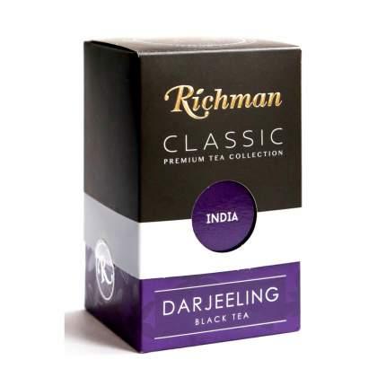 """Чай Richman Classic """"Darjeeling"""", черный листовой, 100 гр"""