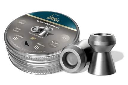 Пули H&N Crow Magnum 4,5 мм 0,60 г (500 шт.)