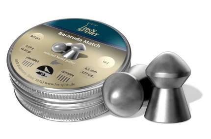 Пули H&N Baracuda Match 4,52 мм 0,6 г (500 шт.) винт.