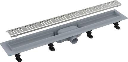 Душевой лоток AlcaPlast APZ10-Simple 950M с решеткой и опорами