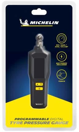 Цифровой манометр MICHELIN с фонариком, LCD дисплеем и клапаном спуска давления, 12294