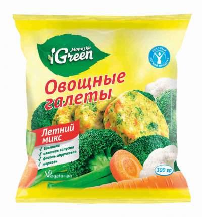 Галеты овощные Морозко грин замороженные летний микс 300 г