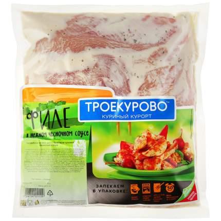 Филе Троекурово охлажденное в пакете для запекания в нежном чесночном соусе 1000 г