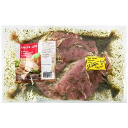 Шейка свиная Мираторг охлажденная без кости в маринаде 1000 г