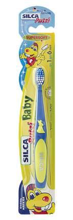 Зубная щетка SILCAMED Putzi Baby 1-6 лет, мягкая, в ассортименте