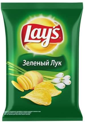 Чипсы Lay's из натурального картофеля молодой зеленый лук 90 г