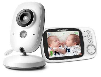 Видео няня BOAVISION VB603 беспроводная, с Аудио, ЖК экраном 3,2 дюйма и ночным видением