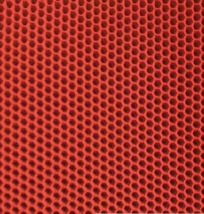 Коврик для кошачьего туалета Зверье мое Чистый пол EVA, красный, 65х40 см