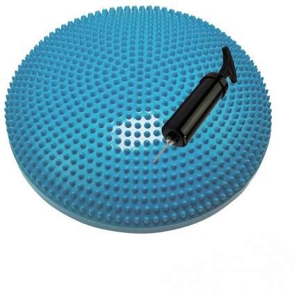 Балансировочный диск Tunturi, с насосом, бирюзовый