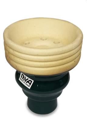 Чаша для кальяна MYA глазурь внешняя Large  (зеленая)