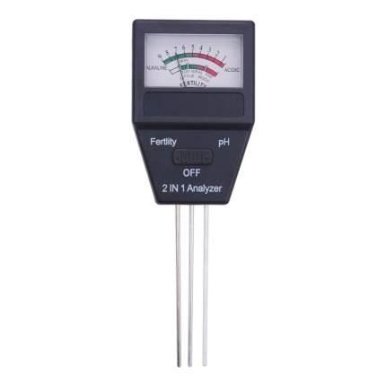 Измеритель уровня pH и влажности почвы ТЕХМЕТР GPM-2A (Черный)