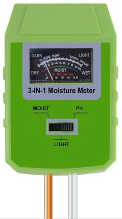 Измеритель кислотности (pH), влажности и освещенности почвы ТЕХМЕТР КВО-1803 (Зеленый)