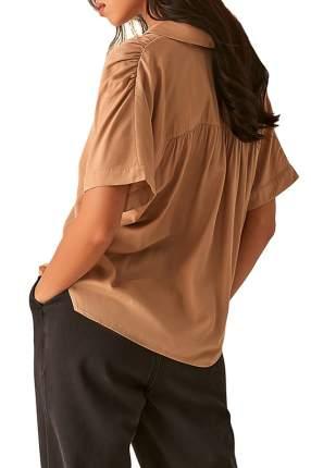 Рубашка женская LOVE REPUBLIC 357002312 бежевая 40