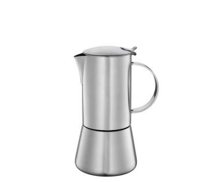 """Кофеварка гейзерная """"Aida"""" от немецкого бренда Cilio на 6 чашек, матовая сталь 342918"""