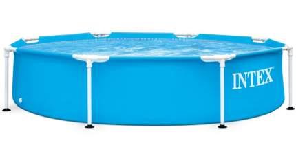 Каркасный бассейн Intex Metal Frame Pool 28205 244х244х51см