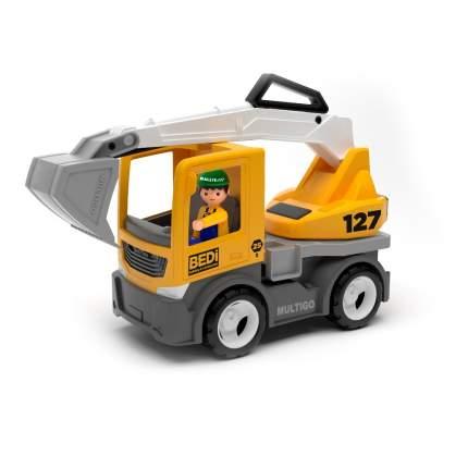 Efko Строительный грузовик-экскаватор с водителем, 22 см