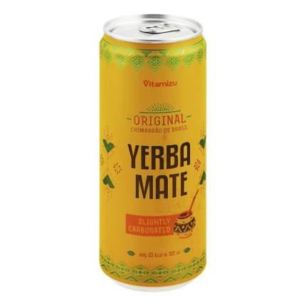 Напиток энергетический Vitamizu Yerba Mate с экстр мате тонизир среднегазир безалк 0,33 л