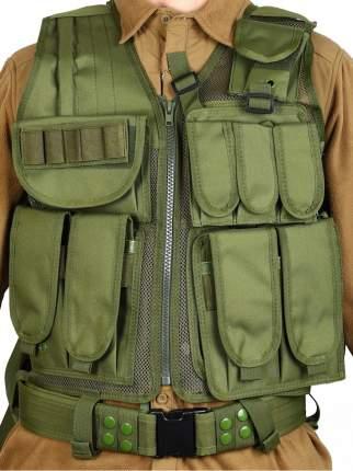 Тактический разгрузочный жилет Unloading Combat Vest T-045, цвет Олива (Olive)