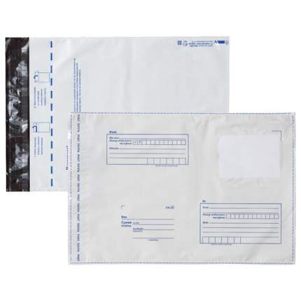 Конверт-пакеты ПОЛИЭТИЛЕН С4 229х324 мм до 160 листов отрывная лента Куда-Кому 50 шт