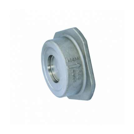Клапан обратный нерж осевой NVD 812 Ду65 Ру40 Тмакс=350 межфлан диск нерж Danfoss 065B7536