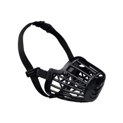 Намордник для собак  TRIXIE размер M 22см (пластик) бежевый, черный