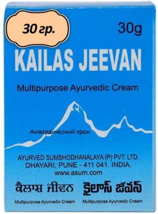 Противовоспалительный крем Кайлаш Дживан 30 г + Индийский крем Универсальный 10 шт. х 30 г