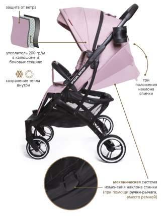 Коляска прогулочная Jetem Lavida Дымчато-розовый/черная рама (Ginger/black frame)