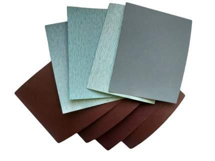 Набор ручной наждачной бумаги ABRAFORM 140х115мм, 8шт.