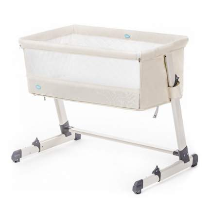 NUOVITA Детская приставная кроватка Accanto (цвет: бежевый) P9 904