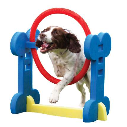 Развивающая игрушка для собак Rosewood Кольцо, разноцветный, 60 см,
